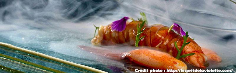 Michelin-starred restaurant Esprit Violette