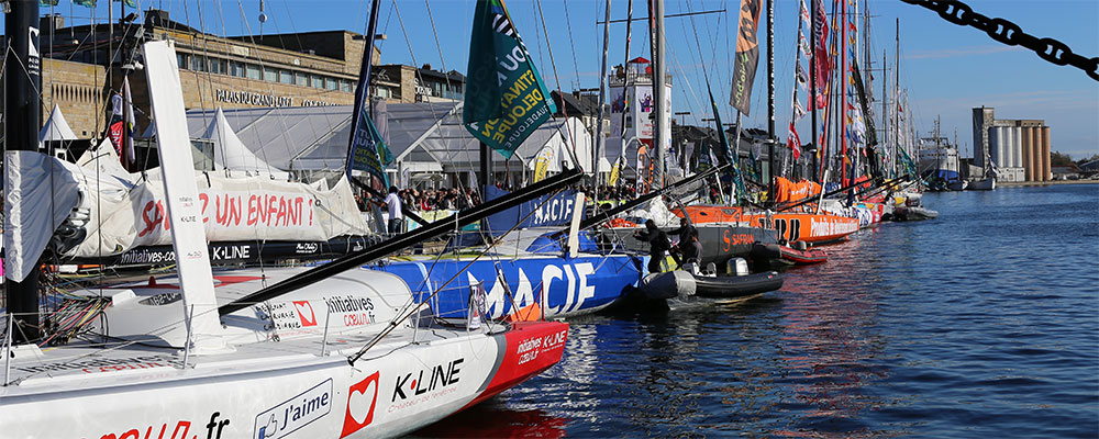 Sailing races that leave from Brittany
