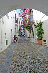 old town of Cadaqués